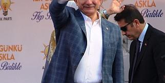 Davutoğlu Manisa'da