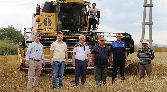 Manisa'da belediyenin buğdayları ihtiyaç sahiplerine un olacak