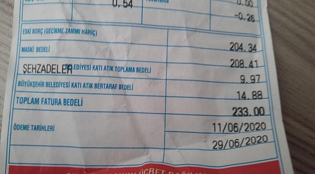 MASKİ'DEN SU FATURALARI AÇIKLAMASI