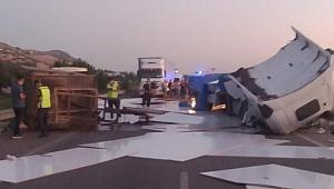 Manisa'da işçiler kaza yaptı: 7 yaralı