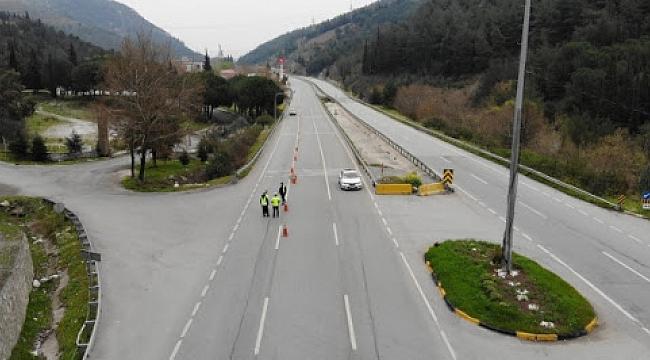 Manisa-İzmir yolunu kullanlara dikkat: O yol trafiğe kapatıldı