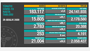 253 can kaybı,15 bin 805 yenivaka
