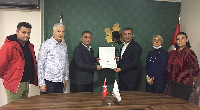 Gelecek Partisi Soma İlçe Başkanı Ali Çırak Oldu