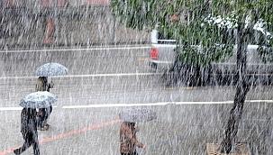 Manisa'ya yağış uyarısı yapıldı