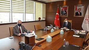 Başkan Ergün'den Bakan Kasapoğlu'na teşekkür