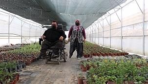Engelli vatandaş hayaline kavuştu
