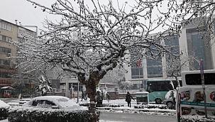 Manisa'da 5 ilçeye kar yağışı uyarısı
