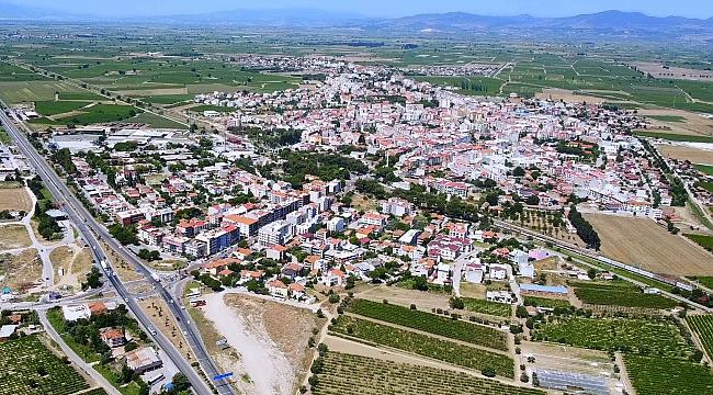 Saruhanlı'nın nüfusu 55 bin 970'e yükseldi