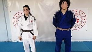 Yunusemre Belediyesporlu judocular milli takımda gurur veriyor