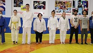 Görme engelli judocuların hedefi Milli Takım