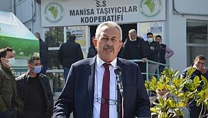Kamyoncular Kooperatifinde Mustafa Şahintepe yeniden başkan