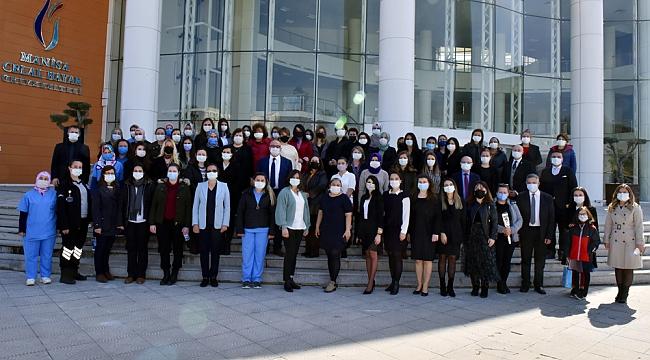 Manisa Celal Bayar Üniversitesi'nde Kadınlar Günü kutlaması
