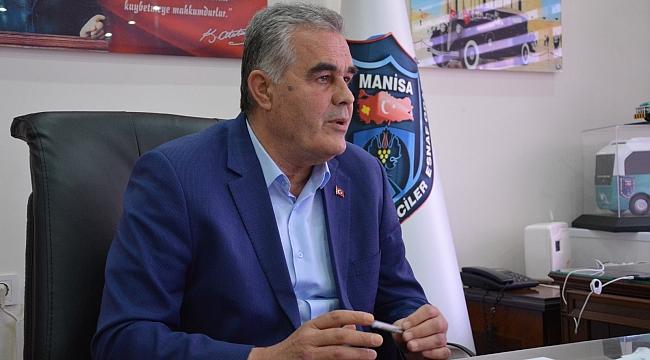 Manisa Şoförler ve Otomobilciler Odası Başkanından aşı talebi
