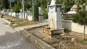Mezarlıkta hırsızlık