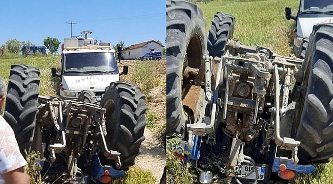 Manisa'da bir ölümlü traktör kazası daha