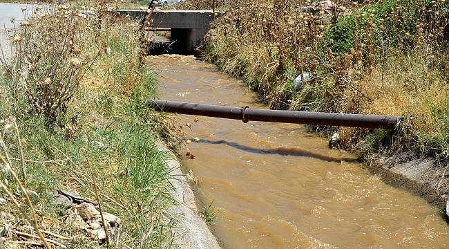 """""""Kanaldan gelen sular yetersiz"""""""