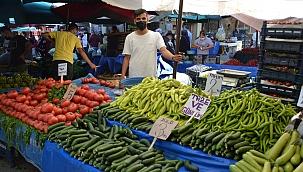 Manisa'da pazarlar normale dönmeye başladı