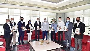 MHP Şehzadeler İlçe Teşkilatından Başkan Ergün'e ziyaret