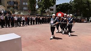 Polis Memuru Mehmet Kaya'ya acı veda