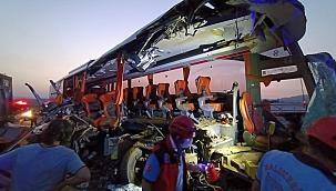 Manisa'daki feci kaza hepimizi üzdü: 6 ölü, 42 yaralı