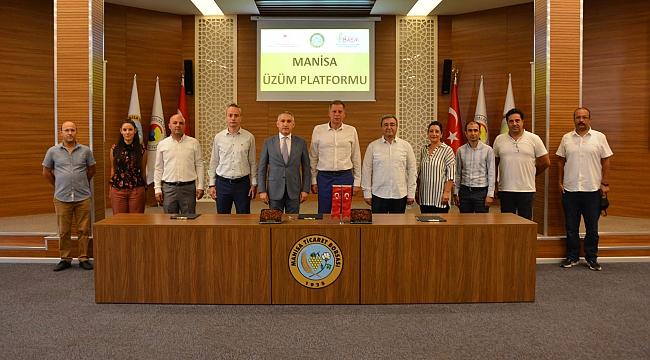 Manisa Üzüm Platformu kuruldu