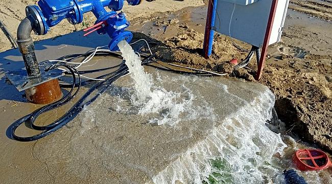 Özpınar kesintisiz içme suyuna kavuştu