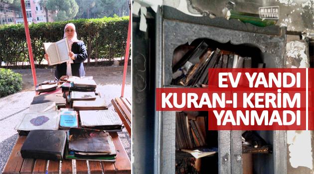EV YANDI KURAN-I KERİM YANMADI