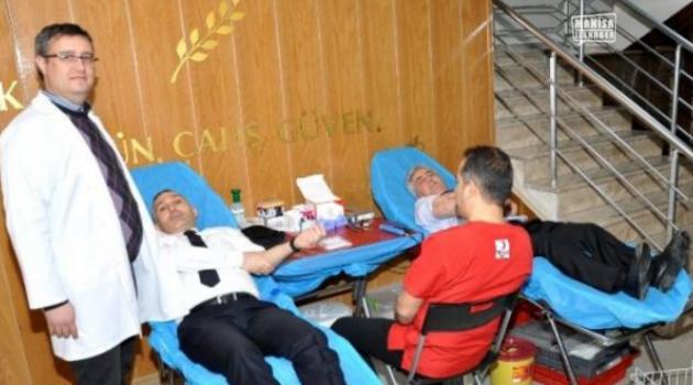 Kan bağışı artıyor