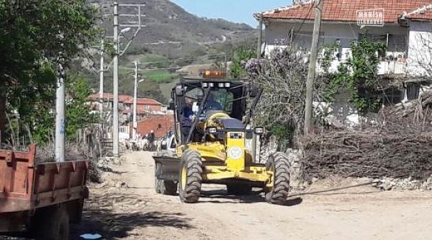 Kırkağaç ilçesi için altyapı ve kilit taşı çalışması