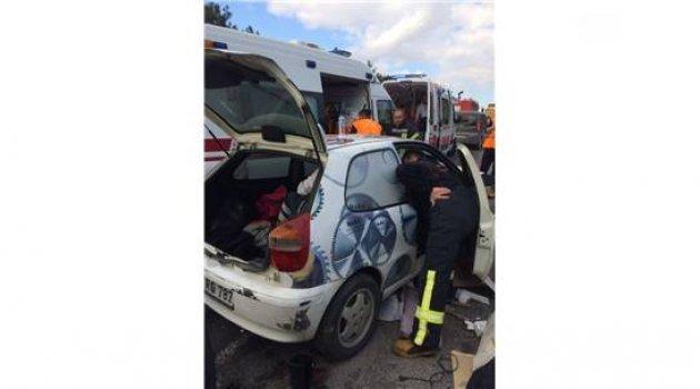 Kırkağaç'ta Trafik Kazası