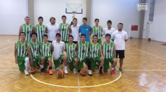 Manisa'nın Basketbol'da büyük başarı elde eden takımı