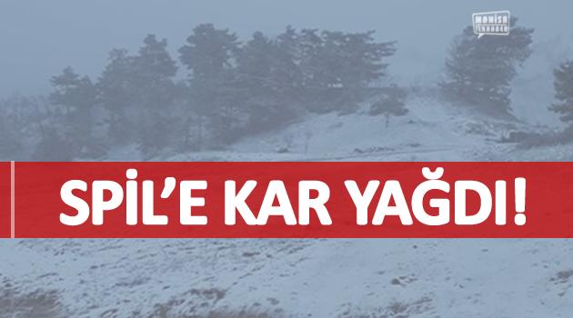 SPİL'E KAR YAĞDI!