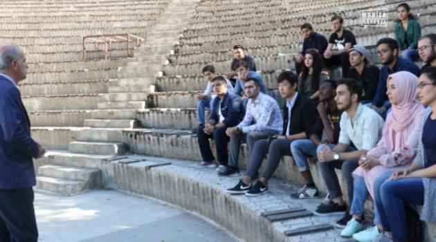 Yabancı öğrencilere Manisa tanıtıldı