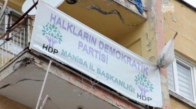 Manisa'da HDP'lilere baskın