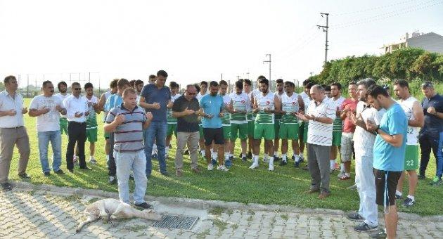 Salihli Belediyespor sezonu dualarla açtı