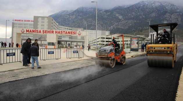 ŞEHİR HASTANESİ'NE YOL VE KAVŞAK