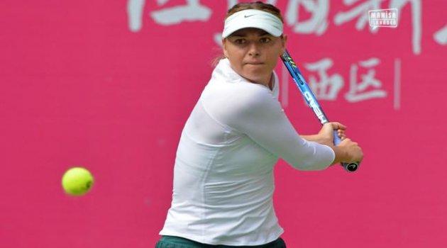 Sharapova Tianjin Açık çeyrek finallerine yükseldi.