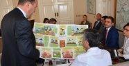 'Organik Yolculuk' Proje Ekibi Vali Bektaş'ı Ziyaret Etti