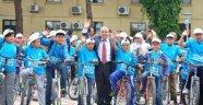 Gördes'te 400 Öğrenci Sağlık İçin Pedal Çevirdi