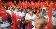 Alaşehir'de 'Demokrasi Şehitlerini Anma Mitingi' yapıldı