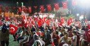 Sarıgöl Demokrasi Şehitleri İçin Birlik Oldu