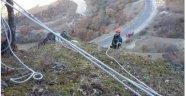 Dağda Mahsur Kalan Keçi Operasyonla Kurtarıldı