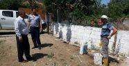 Gölmarmara Mezarlıklarına Ramazan Temizliği