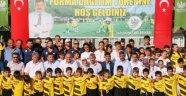 Saruhanlı'da bin öğrencilik yaz spor okulu açıldı