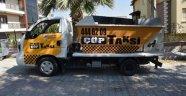 Yunusemre'de büyük çöpler çöp taksi ile toplanıyor
