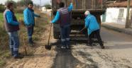Ahmetli'de yol bakım çalışmaları