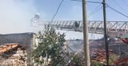 Gördes'te yangın çıktı