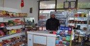 Manisa'da marketten hırsızlık