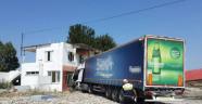 Manisa'da TIR kazası Manisa