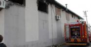 Manisa Şehzadeler ilçesinde yangın